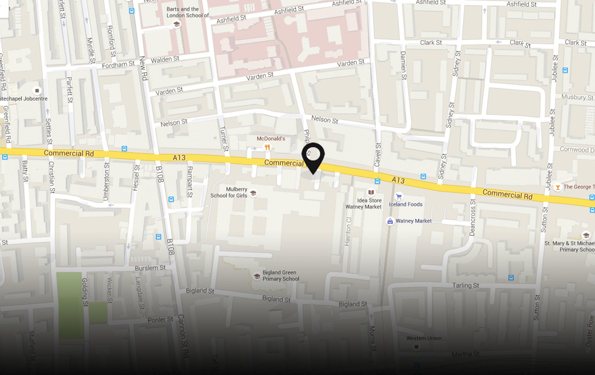 230 Commercial Rd, London E1 2NB