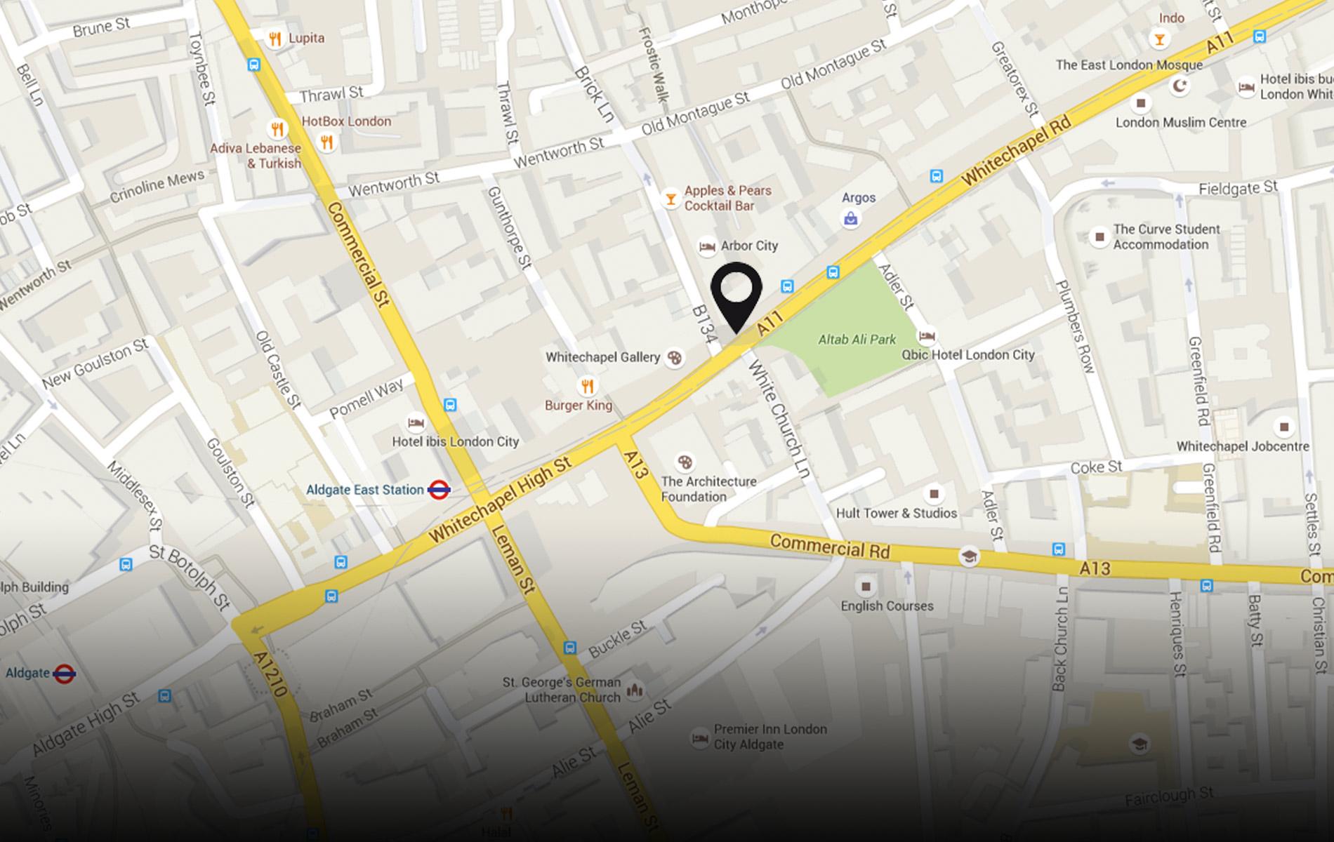 1 Whitechapel Rd, London E1 6TY